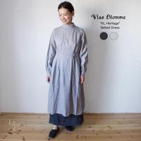 Vlas Blomme(ヴラスブラム)   KL Vintage ベルト付きワンピース 13222101