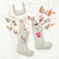【受注販売:お届け11月中旬予定】Coral & Tusk/コーラル・アンド・タスク [Rudolph Small Stocking ] クリスマスストッキング / サイズS