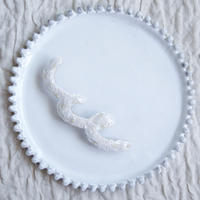 【完売次第販売終了】tamas(タマス)ブローチ「Piuu/ white」