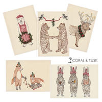 Coral & Tusk/コーラル・アンド・タスク「CHRISTMAS」グリーティングカード