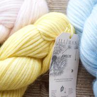【3営業日以内に発送】illimani シルクアルパカリリヤーン『AMELIE 』Mulberry Silk + Baby Alpaca + Merino50gかせ
