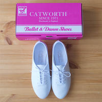 CATWORTH(カットワース/キャットワース)Jazz Shoe Calf /WHITE
