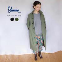 Yarmo(ヤーモ)  Quilt Liner Mac Coat-キルティングライナー  ステンカラーコート