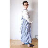 YARMO(ヤーモ)  Bib and Brace Dress / Candy Stripe キャンディーストライプ  エプロンスカート [☆]