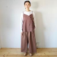 Vlas Blomme(ヴラスブラム)   Silk Linen カシュクールキャミソール 13134001