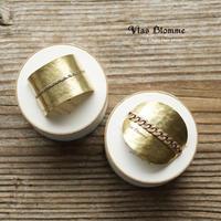 [7月初旬〜中旬再入荷分:ご予約]Vlas Blomme(ヴラスブラム) Brass Chain Hair Hook 31738091