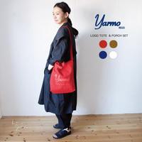 YARMO(ヤーモ)Logo Tote & Porch ロゴ入りトートバッグ&巾着ポーチ セット