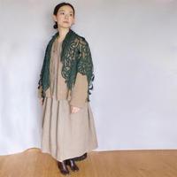 Vlas Blomme(ヴラスブラム) Work Linen Cotton L&Q 中綿入り ワークブルゾン 13416991