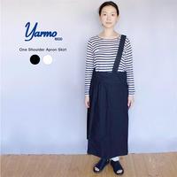 YARMO(ヤーモ)  One Shoulder Apron Skirt ワンショルダーエプロンスカート