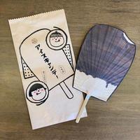 栗川商店「渋うちわ」:アイスキャンデー