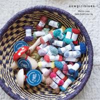 通常販売:cowgirlblues [Wool Lace]メリノレース シングル 4g 小巻  ソリッドカラー/全34色