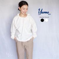 YARMO(ヤーモ)  Hooded Smock コットンフーデッドスモック