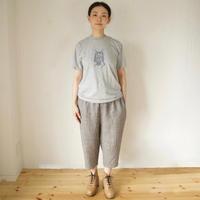 Vlas Blomme(ヴラスブラム)  Vintage Linen Tweed イージーパンツ 13543601