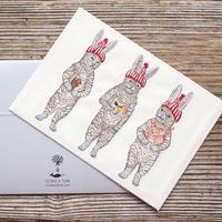 【3営業日以内に発送】Coral & Tusk/コーラル・アンド・タスク「CHRISTMAS」グリーティングカード