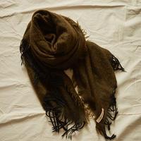 suzuki takayuki (スズキタカユキ) モヘア/ウール/カシミヤ ショール shawl