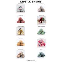 【受注販売】cowgirlblues KidSilk/Variegated Blends 50gかせ シルクモヘア スペースダイ/段染め
