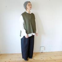 【11月中旬再入荷 / ご予約受付】suzuki takayuki(スズキタカユキ) カシミヤシルク ニットベスト knitted vest