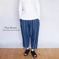 Vlas Blomme(ヴラスブラム)  Wide Stripe サルエルパンツ  13537391