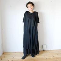 suzuki takayuki( スズキタカユキ) Linen Dress カットソーワンピース