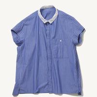 tannossa TS-0221  フレンチスリーブシャツ(STRIPE)