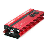 インバーター 定格 2000W 瞬間最大5000W 入力DC12V /出力AC110V デジタルディスプレイ表示あり  50Hz 車載充電器 USBポート付