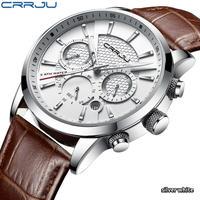 Crrju クォーツ式腕時計 クロノグラフ オマージュウォッチ 日本未発売 ②