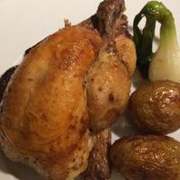 フランス産若鶏のロースト ( Coquelet roti ) 約500g