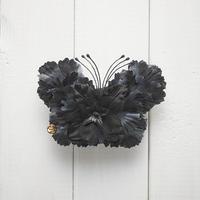 Le Papillon de fleur ヘアーアクセサリー(M/BK)BOX付き