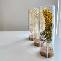 TANE flower bottle/ミモザ