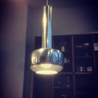 Guldpendel Chrome Pendant  by  Vilhelm Lauritzen