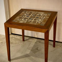 """Baca"" Tile Top Lamp Table"