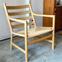 CH44/  Hans J wegner Lounge Chair by Cari Hansen & Son