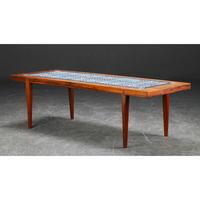"""""""Tenera"""" Tile Top Coffee Table 170x60"""