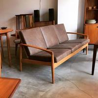 Kai Kristiansen ペーパーナイフソファ3P 宮崎椅子製作所