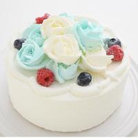 ばらのアイスケーキ(4号)