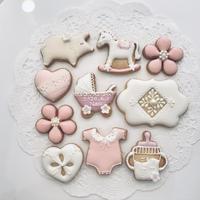 ベビーアイシングクッキー(ピンク)