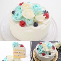 ばらのアイスケーキ(5号)