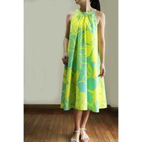 Ginger Dress レモン プルメリア ジンジャードレス HNLS02713-81210