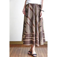Long Flared Skirt ブラウンタパ ロングフレアースカート HNLS02876-26710