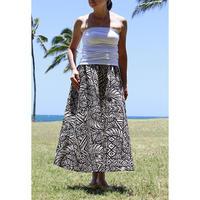 Long Flared Skirt ポリネシアンタパ ロングフレアースカート HNLS02853-36710
