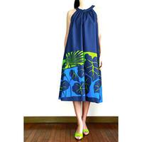Ginger Dress カロ マカプウブルー ジンジャードレス HNLS03004-48210