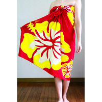 Hawai'ian Pareo  Premium  HIBISCUS  RED HNLS03049-32310