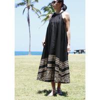 Long Ginger Dress ブラックタパ ロングジンジャードレス HNLS02845-74610