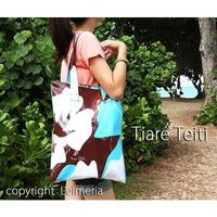 Tiare Teiti ハイビスカス ビーチバッグ HNLS01858-44830