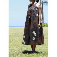 Long Ginger Dress ブラックブラウン フェーン ロングジンジャードレス HNLS02843-74610