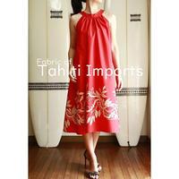 Tahiti  Imports モキハナ ジンジャードレス HNLS02616-64250