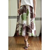 Flare Skirt ハイビスカス エクリュ HNLS02639-81410