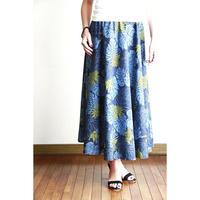 Long Flared Skirt モンステラ ロングフレアースカート HNLS02882-26710