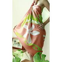Plumeria Sun ティアレナル パレオ HNLS01616-32020