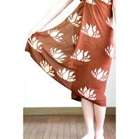 Hawai'ian Pareo  LOTUS  Cinnamon Coral Pink   HNLS03038-8660